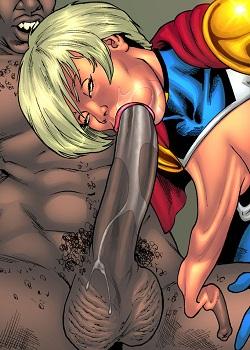 Starbusty – Drained Tits [Superheroeine comixx]