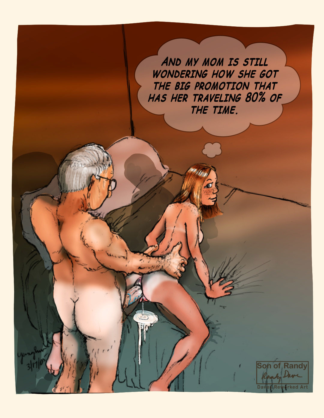 Adult Incest Sex Comics son of randy dave   porn comics