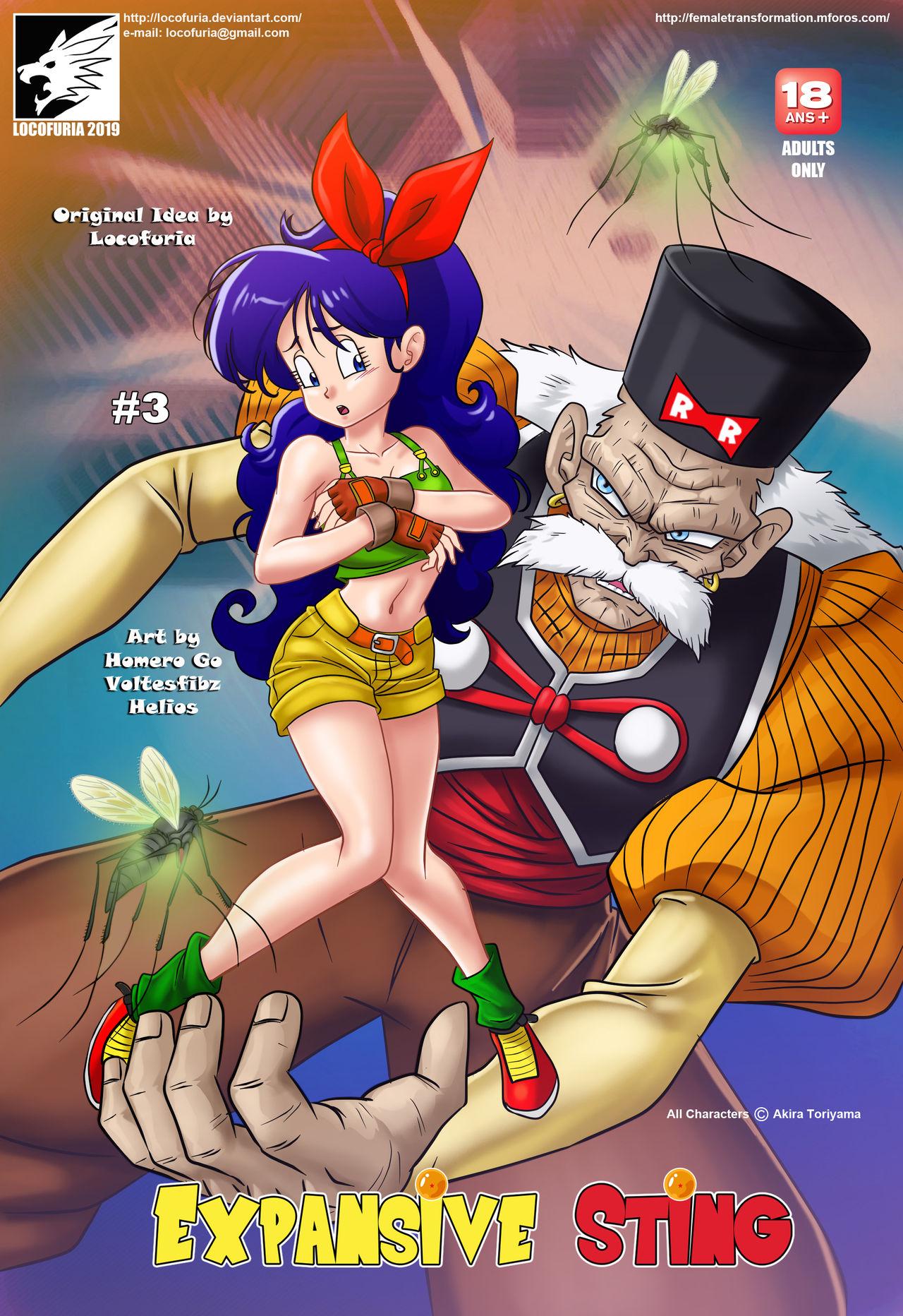 All Anime Porn Comic locofuria – expansive sting 3 (dragon ball z) | porn comics