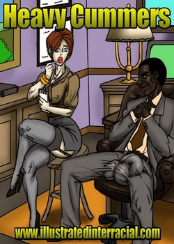 [Illustrated interracial] – Heavy Cummers