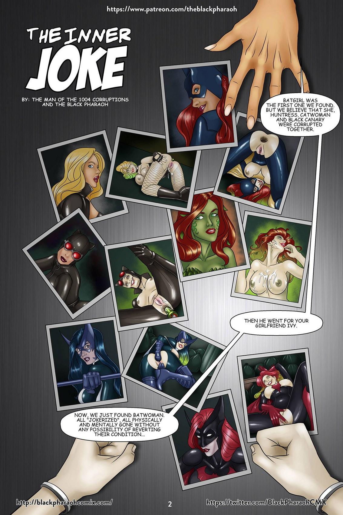 Batgirl Porn Comic black pharaoh] - the inner joke | porn comics