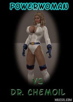 Captured Heroines – Powerwoman vs Dr Chemoil