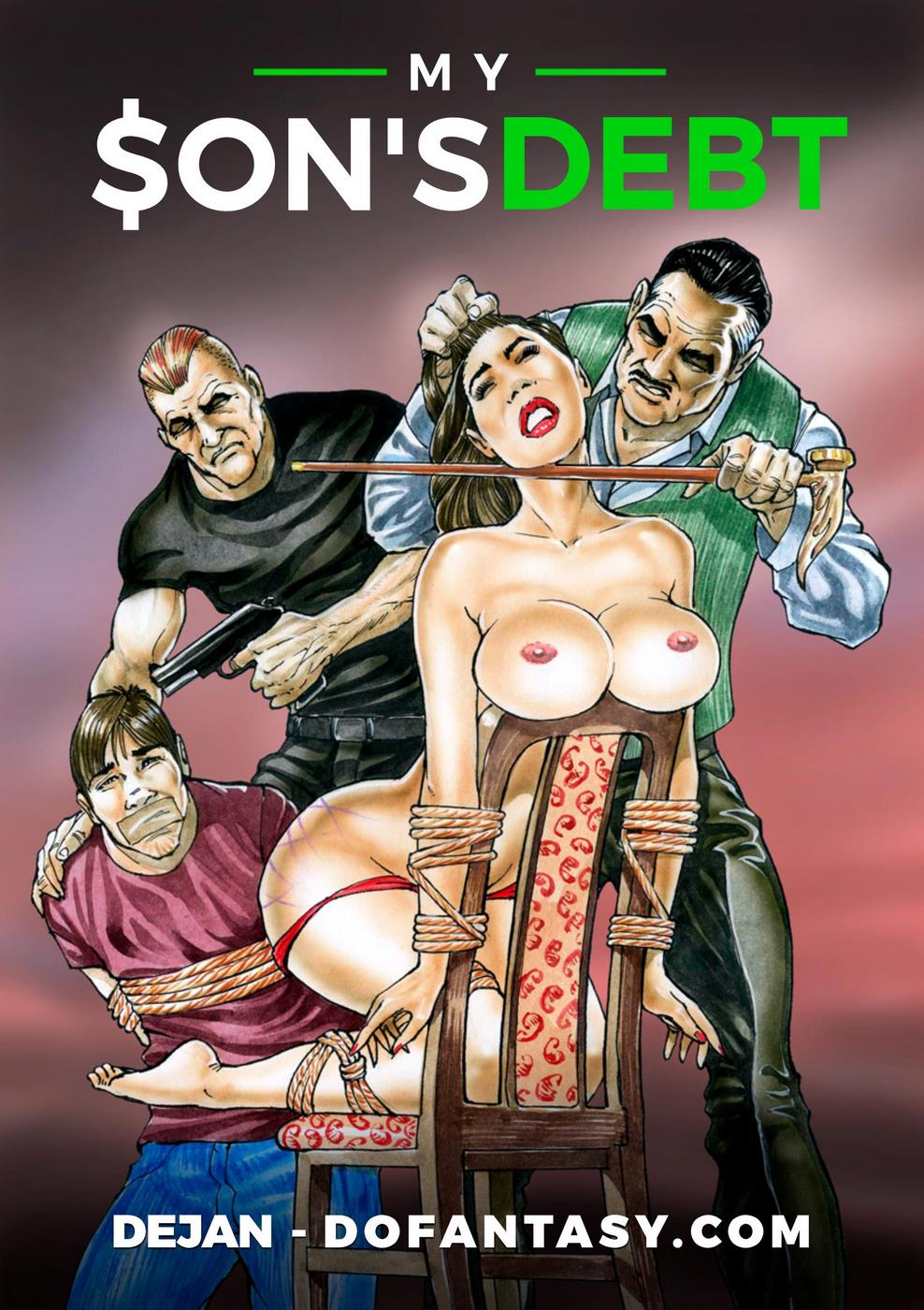 Forced Comic Porn dofantasy] - dejan – my son's debt | porn comics