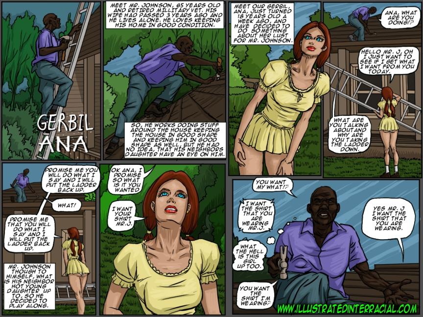 interracial porn comics
