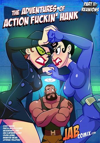 Jab Comix – The Adventures of Action Fuckin Hank 02