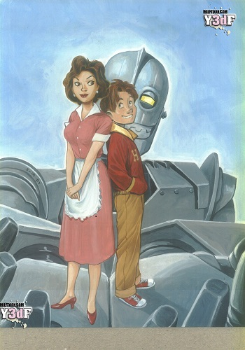 Milftoon – Iron Giant 1 (color)