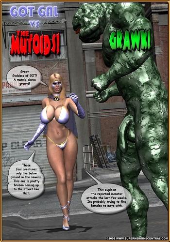 Mr.X – Got Gal Episode 5 Got Gal vs the Mutoids