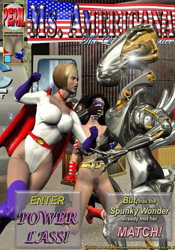 Mr.X – Ms. Americana In the Cluthes of the Trapster