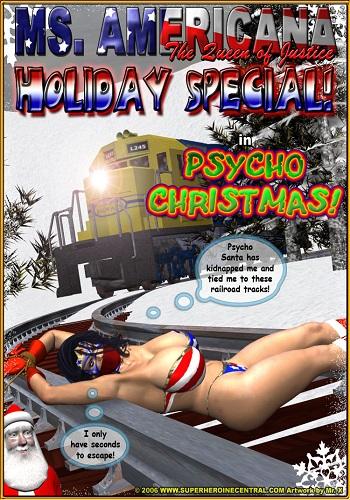 Mr.X – Ms. Americana Psycho Christmas