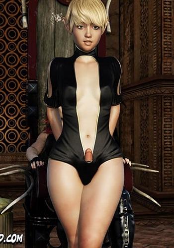 CrazyDad3D –The Macnamara Vampire Shemale 2