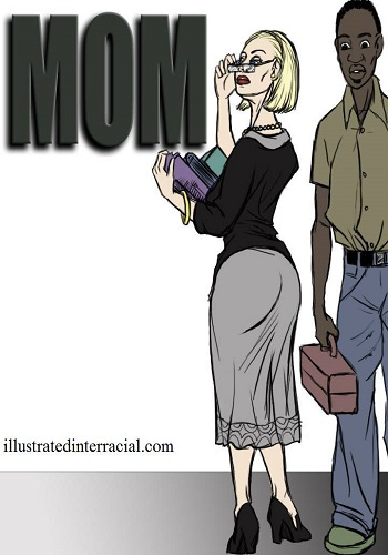 Illustrated interracial – Mom