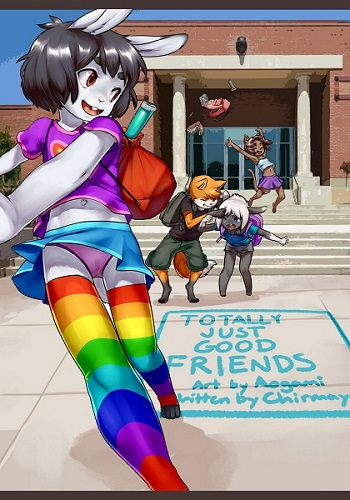 Aogami-Totally Just Good Friends