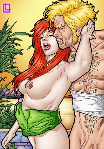 Leandro Comics – Jean Grey and Grifter