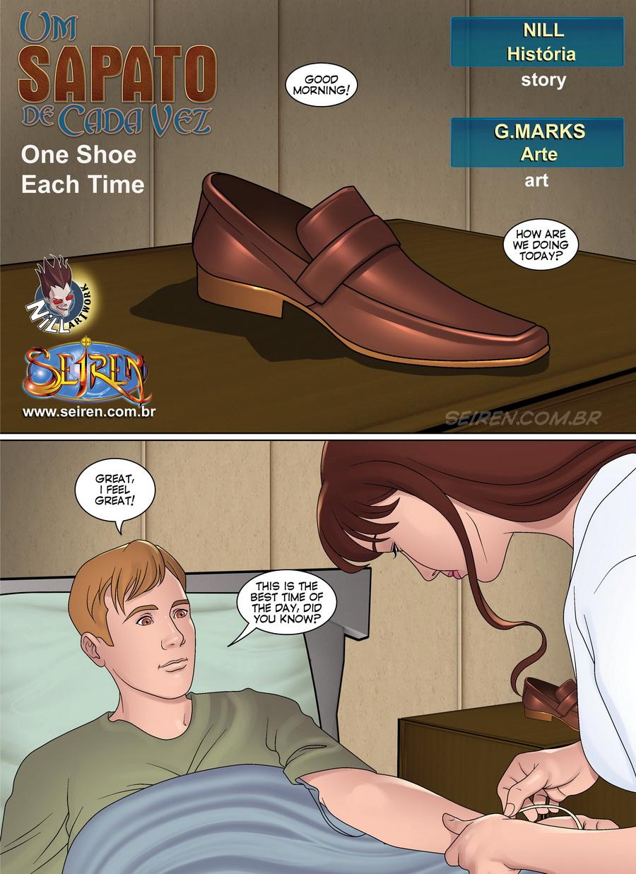 Arte O Porno seiren-one shoe each time   porn comics