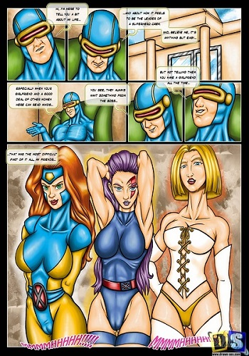 Drawn Sex – X Men Girls