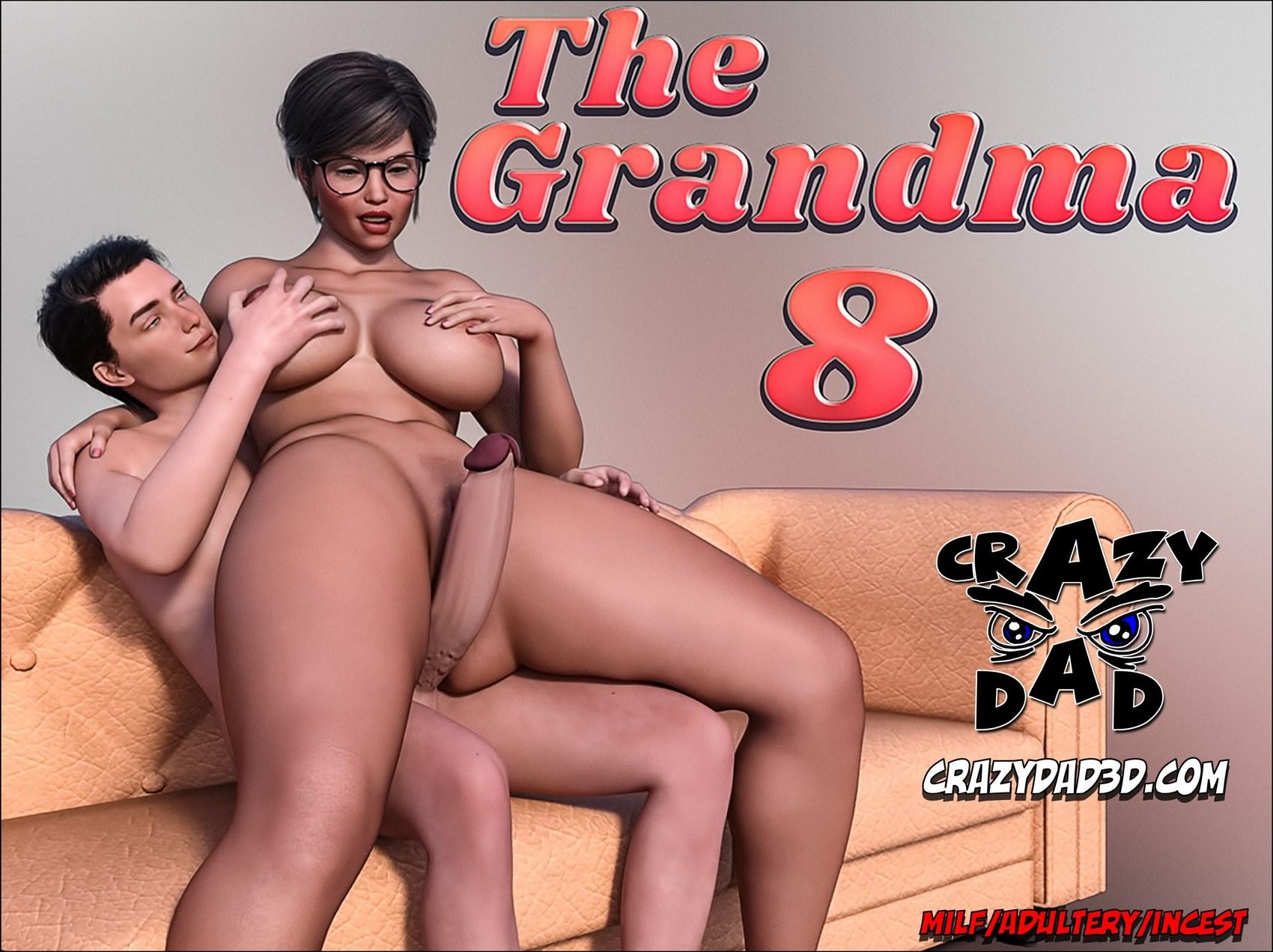 8 Day Porno crazydad3d – the grandma 8 | porn comics