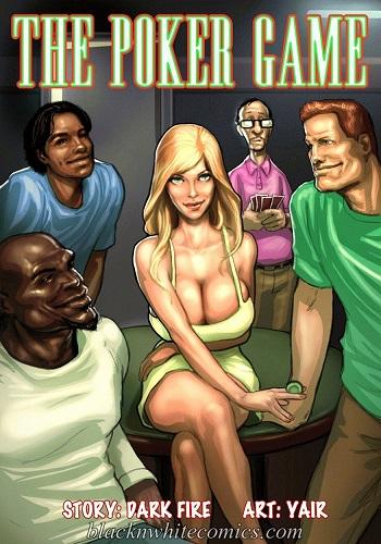 [BlacknwhiteComics] The Poker Game
