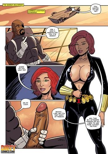 Dirtycomics – xXx Avengers Black Ops (Karmagik)