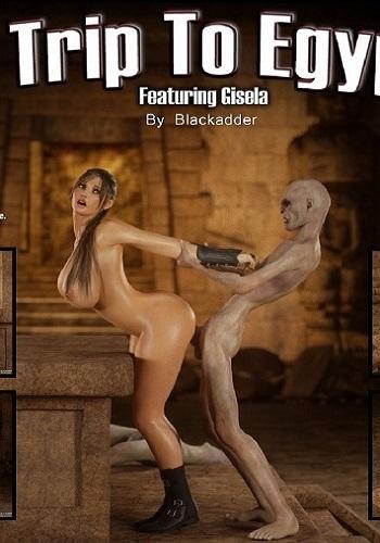 Blackadder- The Trip to Egypt 2