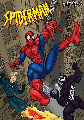 Spider-Man- Iceman Blue