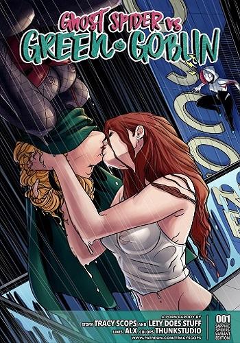 [Tracy Scops] Ghost Spider VS. Green Goblin (Spider-Man)