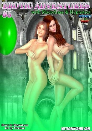 Trishbot – Erotic Adventures of Macrolass & Hypnotica 5