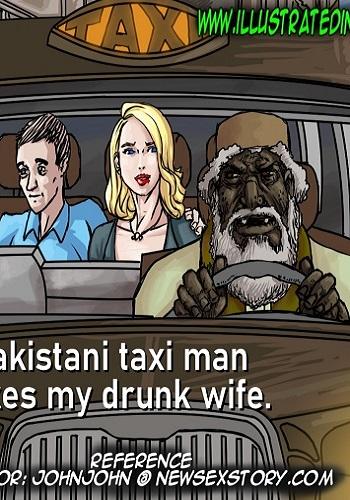 illustratedinterracial – Pakastani Taxi Man