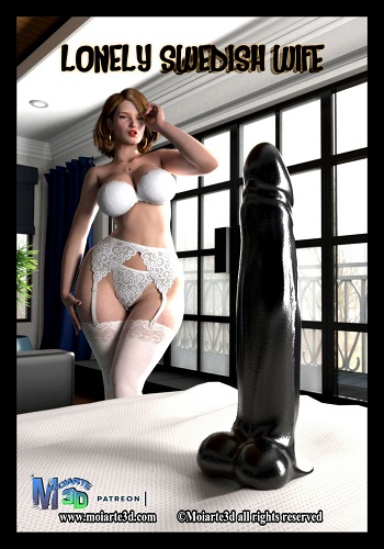 Moiarte3D – Lonely Swedish Wife