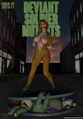 Dangerbabecentral – Deviant Mutant Soldiers!