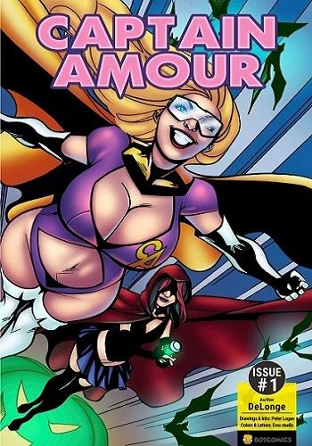 Botcomix- Captain Amour Issue 1