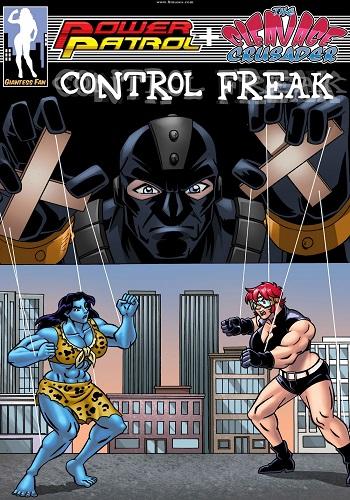 Power Patrol + The Cleavage Crusader- Control Freak