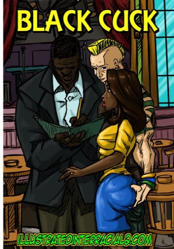 Illustrated Interracial- Black Cuck
